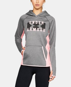 Women's UA Storm Armour® Fleece Big Logo Hoodie LIMITED TIME OFFER 2 Colors $39.99