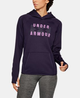 Women's UA Storm Armour® Fleece Big Logo Hoodie 40% OFF: CYBER WEEKEND ONLY 1 Color $38.99