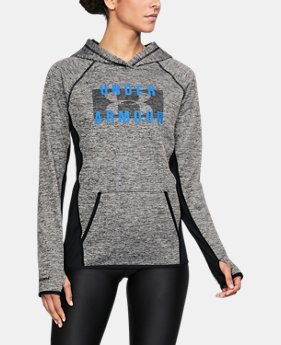 Women's UA Storm Armour® Fleece Big Logo Twist Hoodie LIMITED TIME OFFER 1 Color $50.99