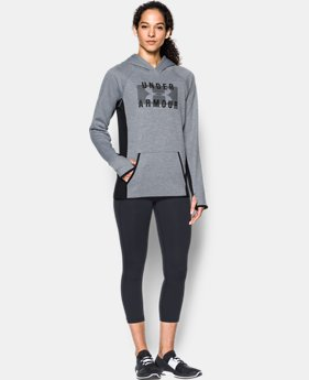 Women's UA Storm Armour® Fleece Big Logo Twist Hoodie LIMITED TIME OFFER 2 Colors $50.99