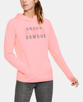 Women's  UA Storm Armour Fleece® Big Logo Twist Hoodie  2 Colors $52.49