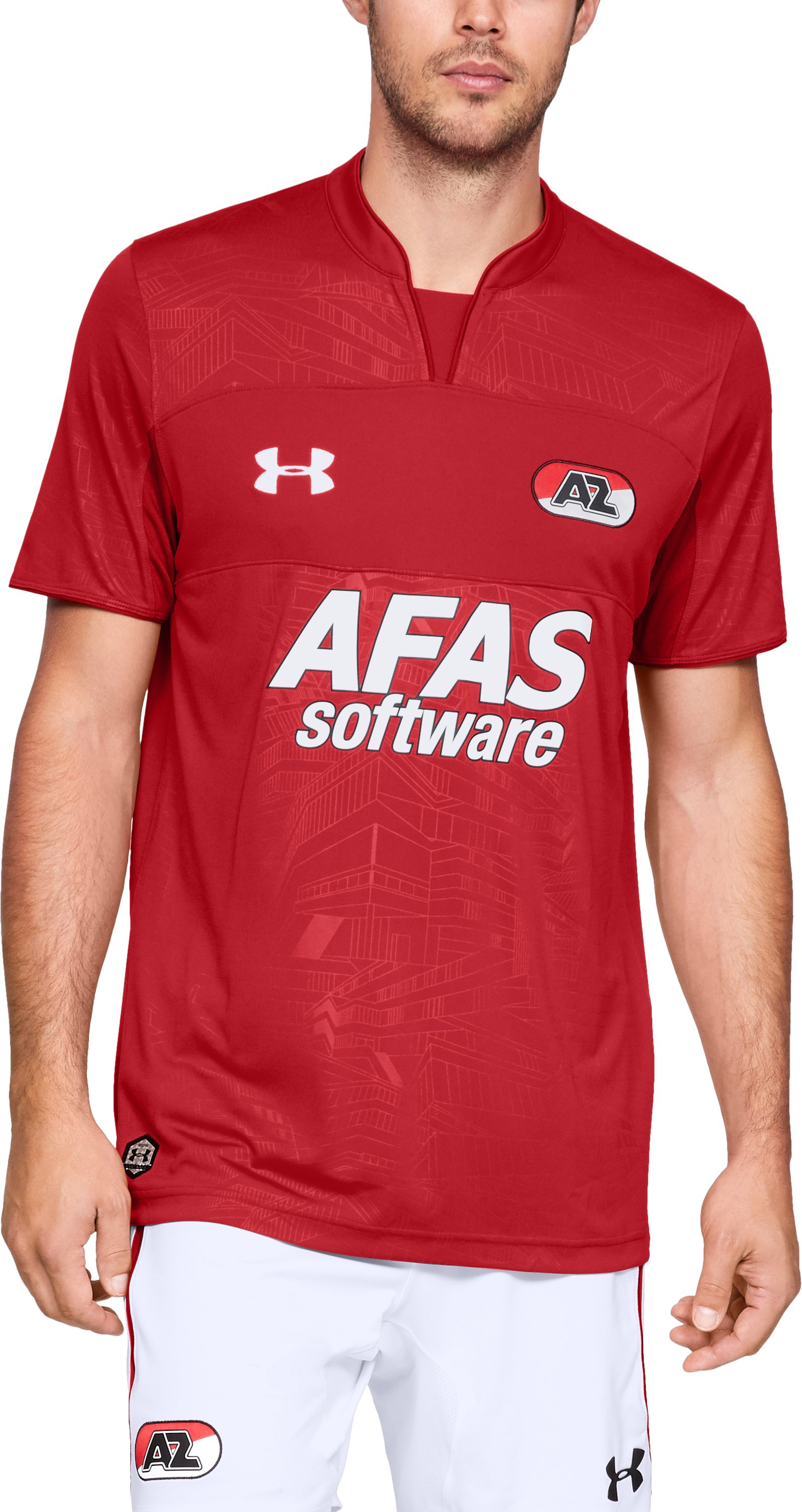 Men's AZ Alkmaar Replica Jersey, Red