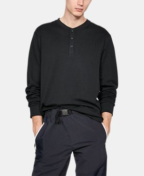 New Arrival Men's UAS Knit Henley Shirt  1 Color $120