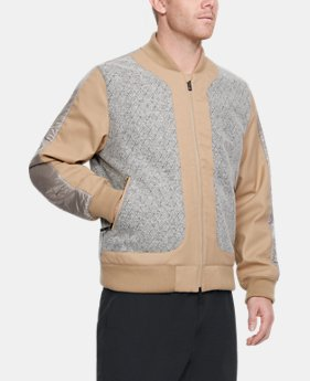 New to Outlet Men's UAS Wool Bomber Jacket  1 Color $225