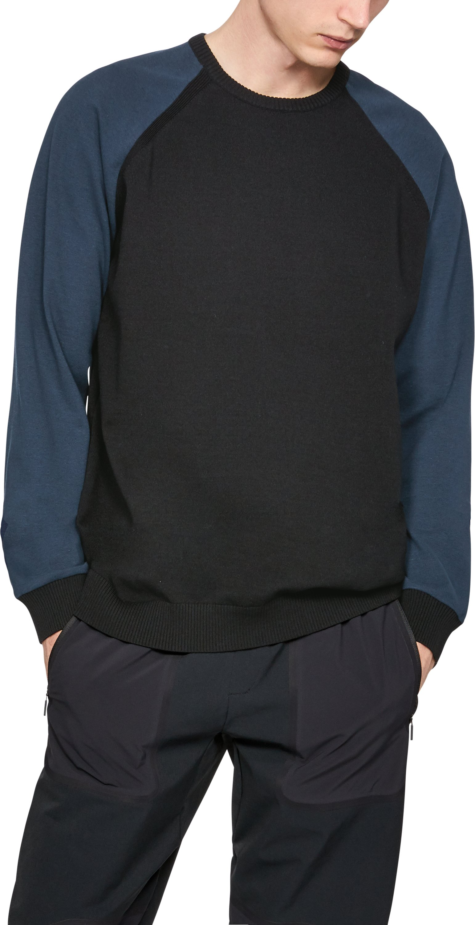Men's UAS Sweater Crew, Black