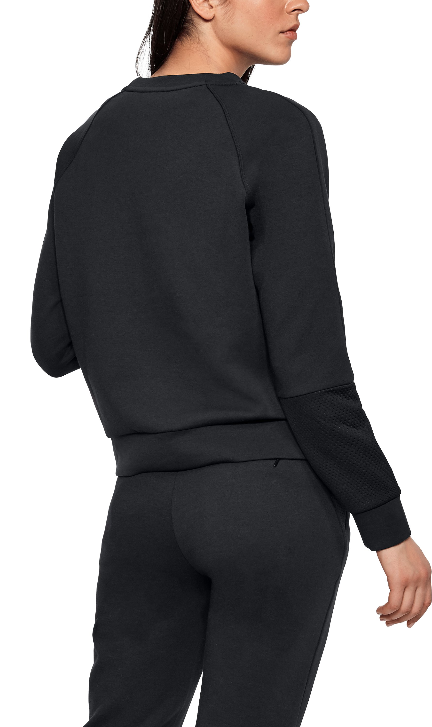 Women's UAS Shrunken Sweatshirt, Black ,