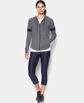 Women's UA Sportstyle Full Zip Hoodie  6 Colors $54.99
