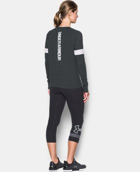 Women's UA Sportstyle Crew Long Sleeve  2 Colors $44.99