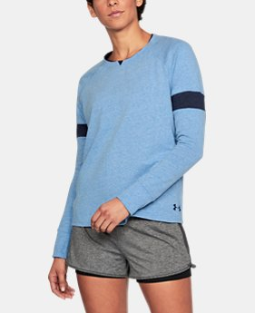 Women's UA Sportstyle Crew Long Sleeve  1 Color $33.74