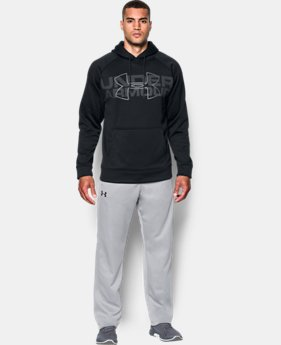 New Arrival Men's UA Storm Armour® Fleece Graphic Hoodie  1 Color $54.99