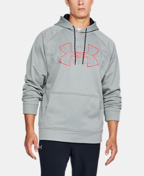 Men's UA Storm Armour Fleece® Graphic Hoodie  3  Colors Available $32.99