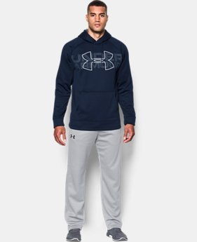 Men's UA Storm Armour Fleece® Graphic Hoodie  1  Color Available $32.99 to $41.99