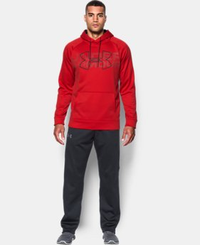 New Arrival Men's UA Storm Armour® Fleece Graphic Hoodie  1 Color $64.99