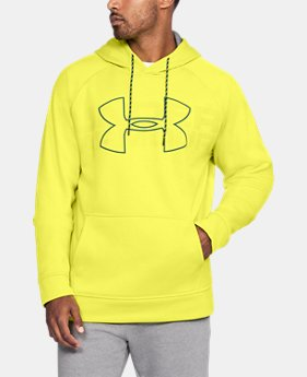 Best Seller Men's UA Storm Armour Fleece® Graphic Hoodie  2 Colors $54.99