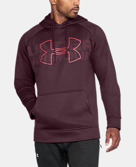 Men's UA Storm Armour® Fleece Graphic Hoodie LIMITED TIME OFFER 1 Color $47.26