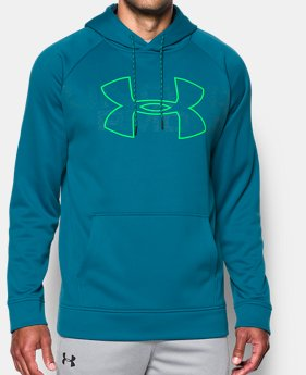 Mens blue outlet under armour us mens ua storm armour fleece graphic hoodie 1 color available 3299 gumiabroncs Gallery