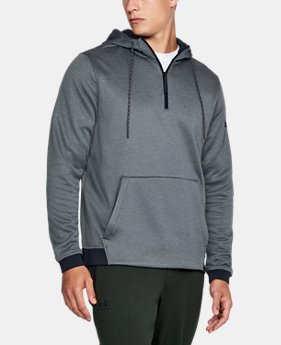 Men's UA Storm Armour® Fleece ¼ Zip Hoodie LIMITED TIME OFFER 2 Colors $46.14