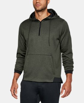New to Outlet Men's UA Storm Armour Fleece® ¼ Zip Hoodie  1 Color $48.74