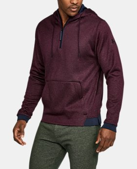 New Arrival Men's UA Storm Armour® Fleece ¼ Zip Hoodie  1 Color $64.99