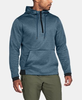 Men's UA Storm Armour® Fleece ¼ Zip Hoodie LIMITED TIME OFFER 6 Colors $39.99