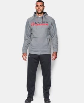 Men's UA Storm Armour® Fleece Wordmark Hoodie 40% OFF: CYBER WEEKEND ONLY 2 Colors $32.99