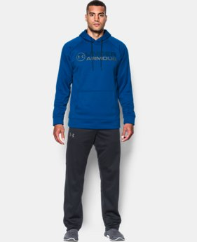 New Arrival Men's UA Storm Armour® Fleece Wordmark Hoodie  2 Colors $64.99