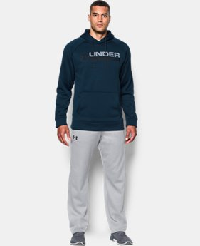 Men's UA Storm Armour Fleece® Wordmark Hoodie  4 Colors $54.99