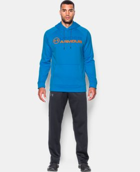 Men's UA Storm Armour® Fleece Wordmark Hoodie LIMITED TIME OFFER 2 Colors $39.99