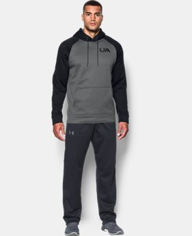 New Arrival Men's UA Storm Armour® Fleece Colorblock Hoodie  4 Colors $54.99