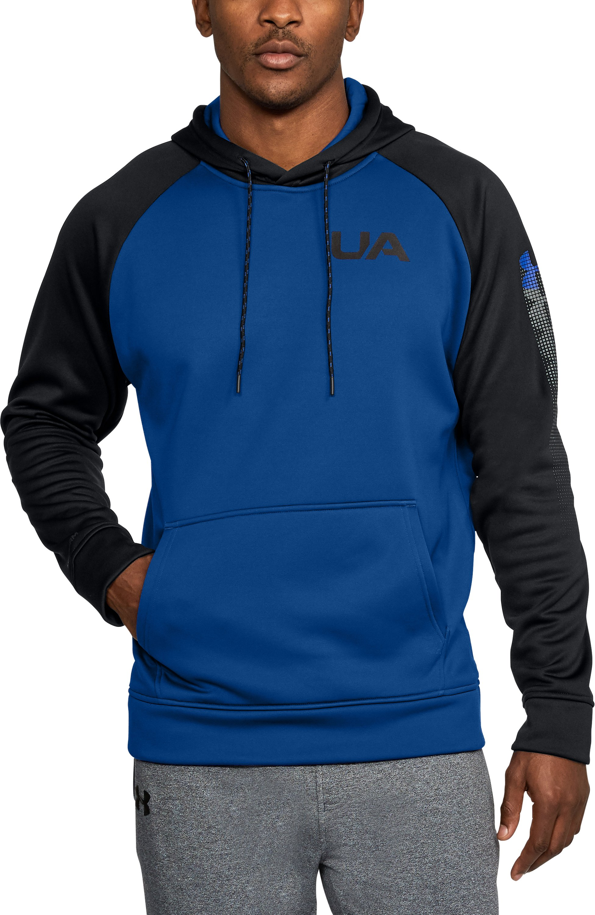 Men's UA Storm Armour Fleece® Colorblock Hoodie, Royal