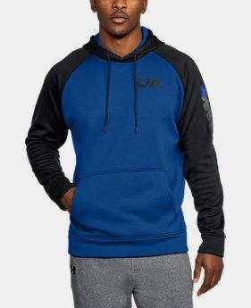 Mens blue outlet under armour us mens ua storm armour fleece colorblock hoodie 1 color available 3299 gumiabroncs Gallery