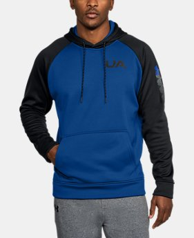 Men's UA Storm Armour® Fleece Colorblock Hoodie LIMITED TIME OFFER 6 Colors $39.99