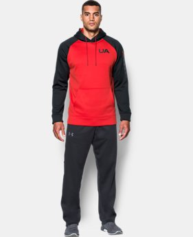 Men's UA Storm Armour® Fleece Colorblock Hoodie LIMITED TIME OFFER 1 Color $32.99 to $39.99