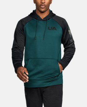 New Arrival Men's UA Storm Armour® Fleece Colorblock Hoodie  6 Colors $54.99
