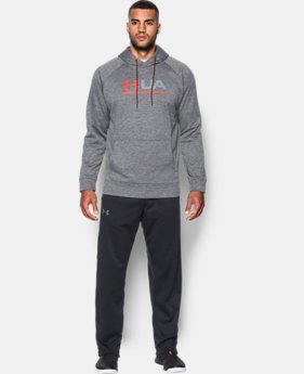 Men's UA Storm Armour Fleece® Tonal Twist Hoodie  3  Colors Available $32.99