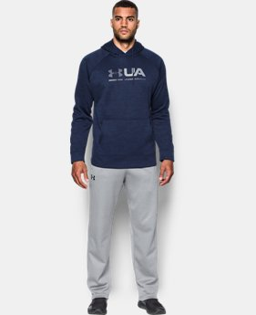 New Arrival Men's UA Storm Armour® Fleece Tonal Twist Hoodie  4 Colors $69.99