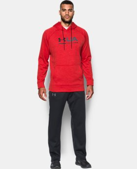 New Arrival Men's UA Storm Armour® Fleece Tonal Twist Hoodie  2 Colors $54.99