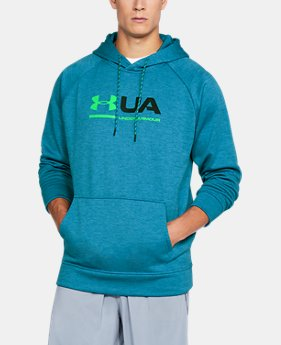 New Arrival Men's UA Storm Armour® Fleece Tonal Twist Hoodie  1 Color $54.99