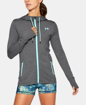 Women's UA Featherweight Fleece Full Zip Hoodie  2 Colors $47.99 to $59.99