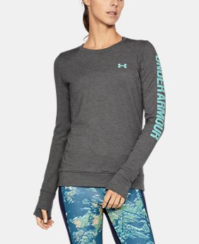 Women's UA Featherweight Fleece Crew  1 Color $54.99