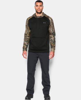 Men's UA Storm Armour® Fleece Camo Hoodie  3 Colors $64.99