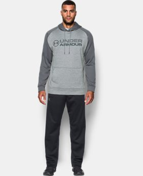 Men's UA Storm Armour® Fleece Stacked Hoodie   $54.99