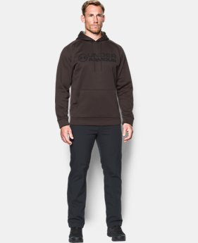 New to Outlet Men's UA Storm Armour Fleece® Stacked Hoodie  4 Colors $41.24