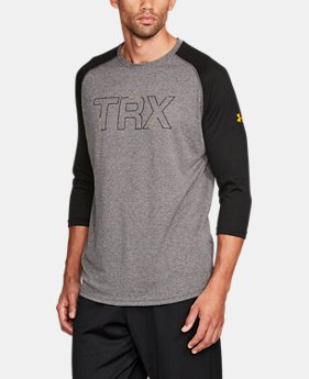 Men's UA x TRX ¾ Sleeve T-Shirt  1 Color $29.99