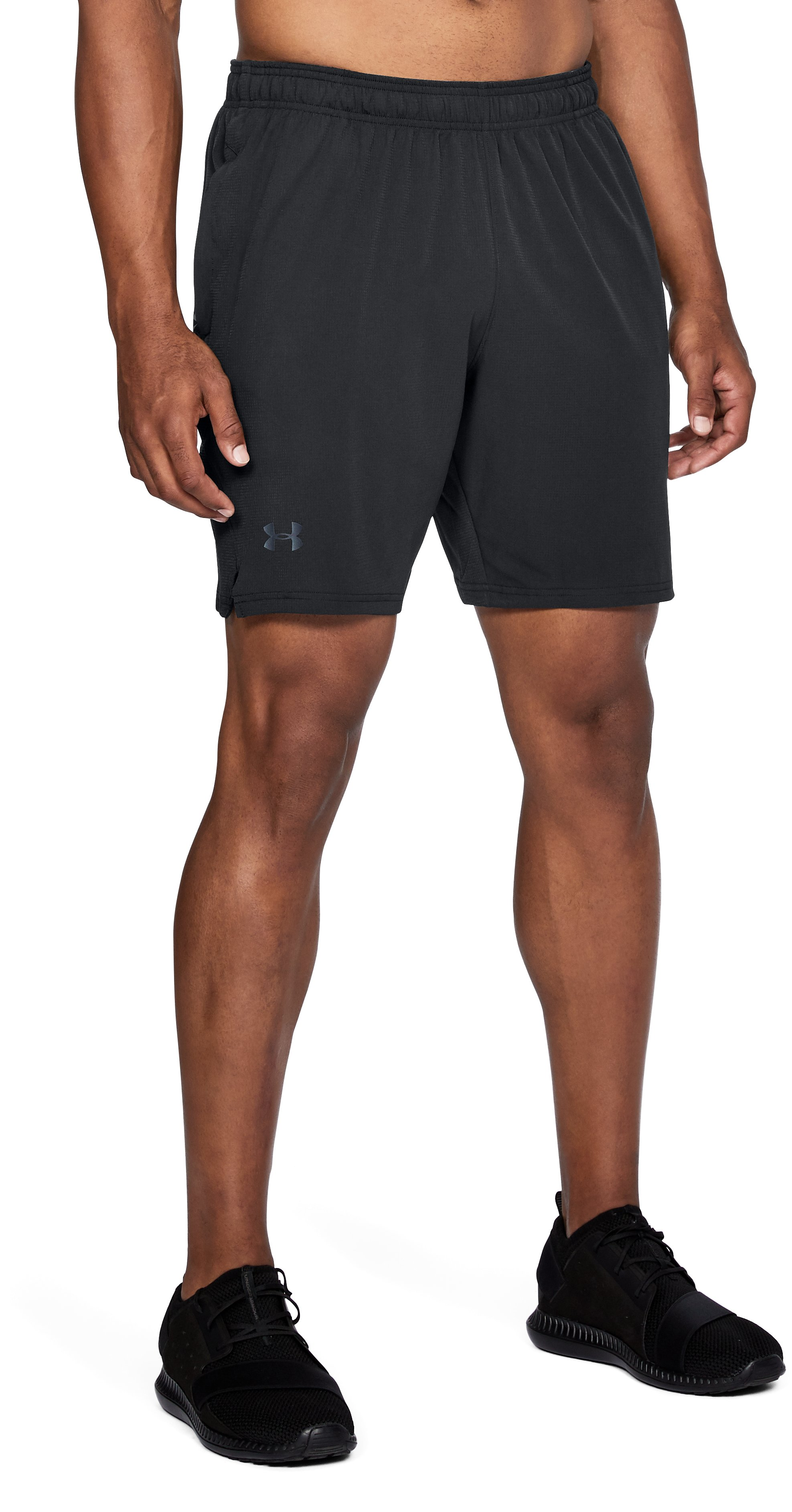 Men's UA x TRX Cage Shorts, Black , undefined