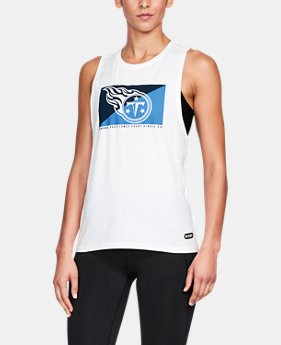 Women's NFL Combine Authentic Muscle Tank  1  Color Available $26.24 to $26.99