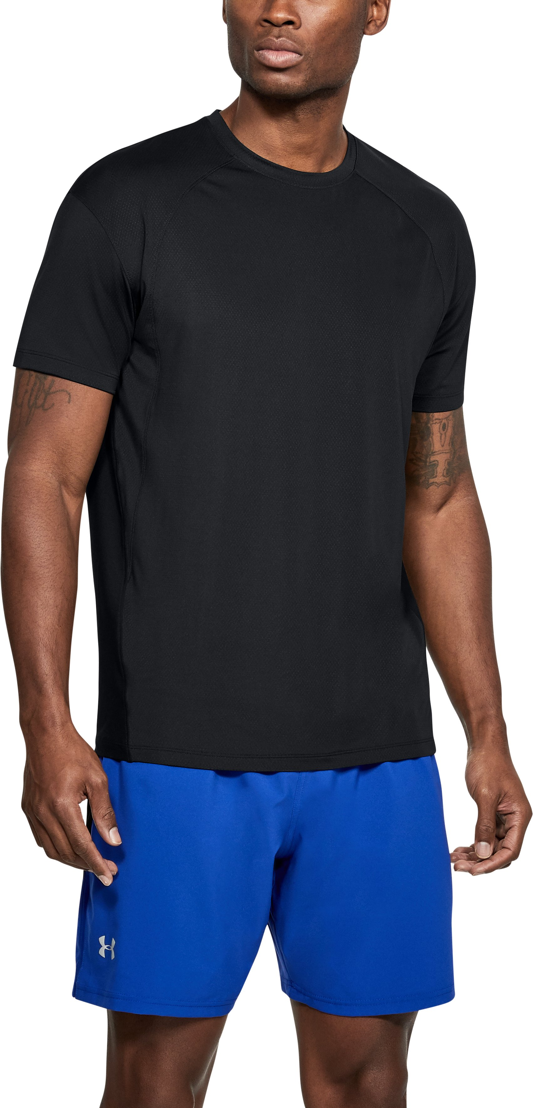 Men's UA CoolSwitch Short Sleeve, Black