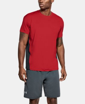 Men's UA CoolSwitch Short Sleeve  1  Color $45