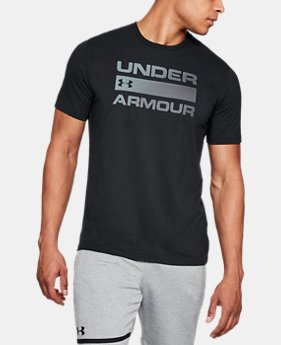 Men's UA Team Issue Wordmark T-Shirt  5 Colors $30