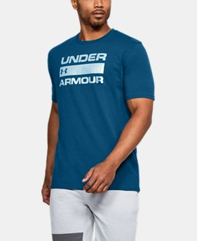 Men's UA Team Issue Wordmark T-Shirt  1  Color Available $18.75